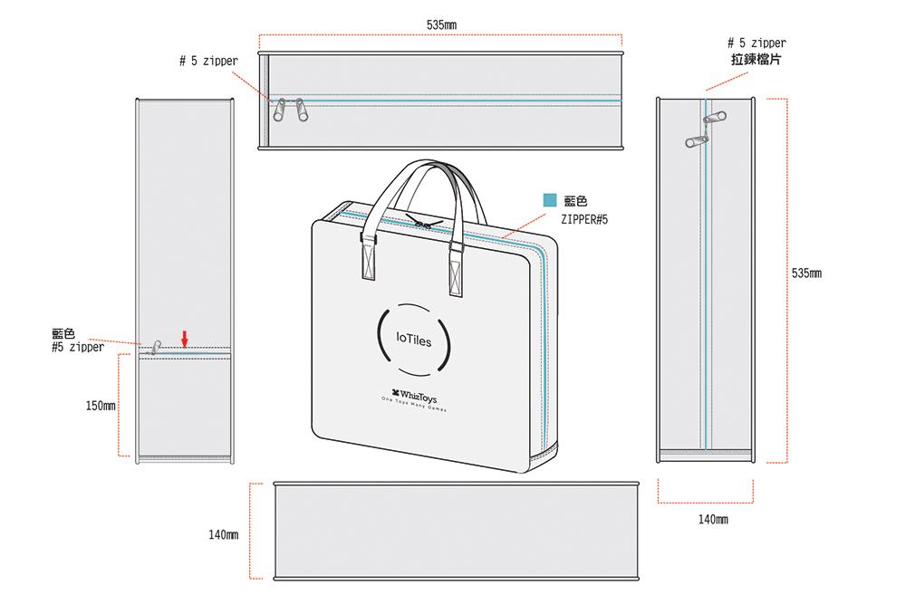 倍勁背包訂製客戶案例-完全客製背包