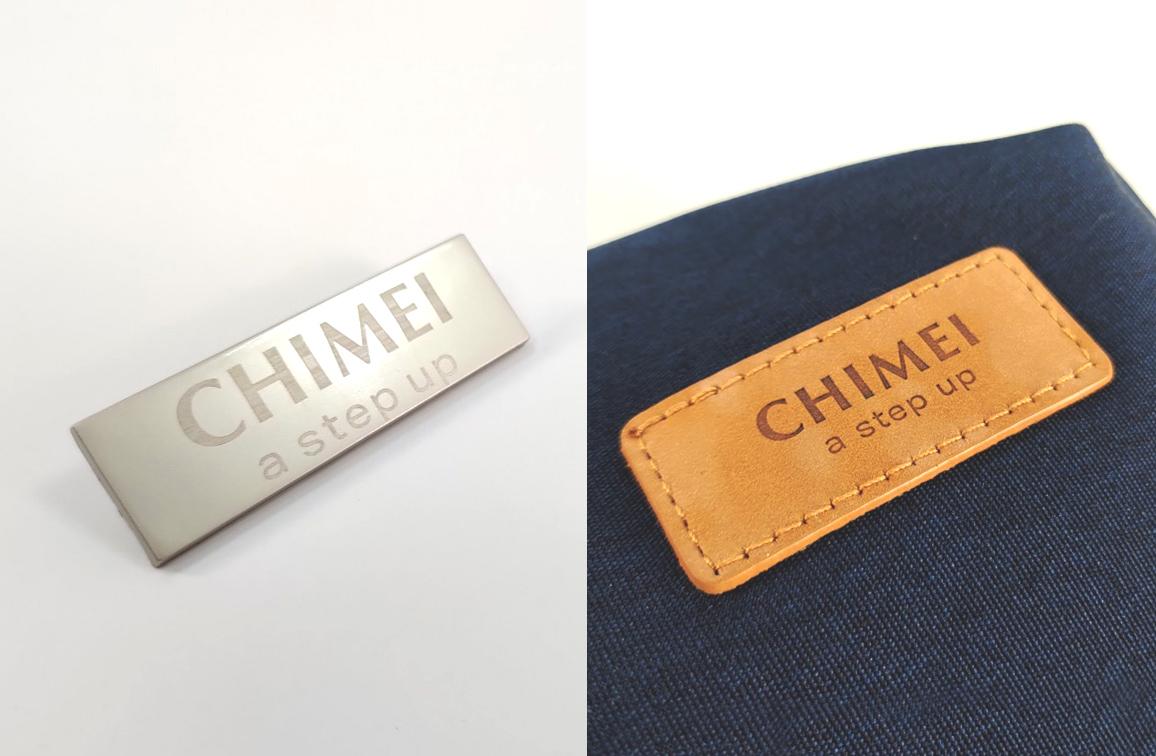 奇美60週年紀念背包客製|電繡加工客製與真皮LOGO背包