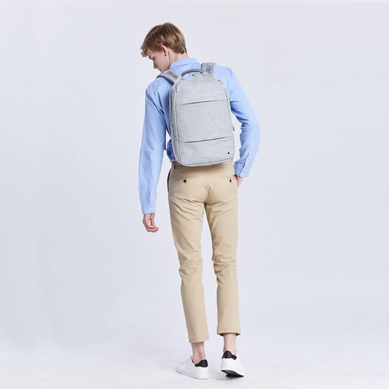 工廠代工韓系雙肩電腦後背包