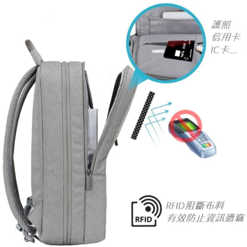 代工日系雙肩電腦後背包