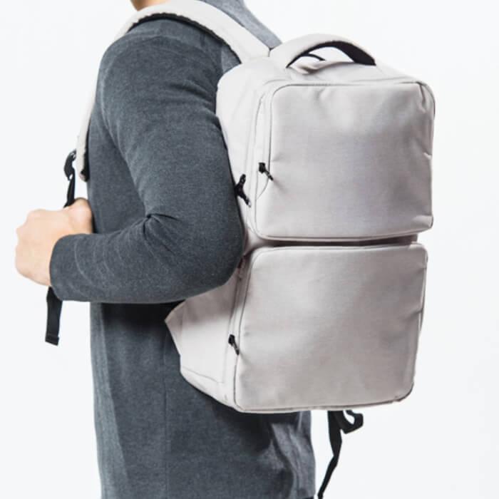 客製雅痞大容量電腦後背包