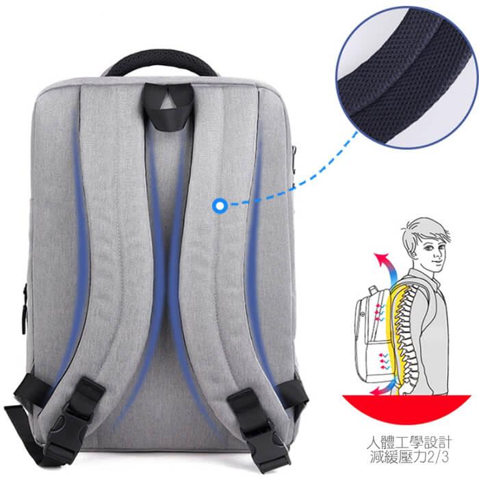 訂做極簡電腦後背包