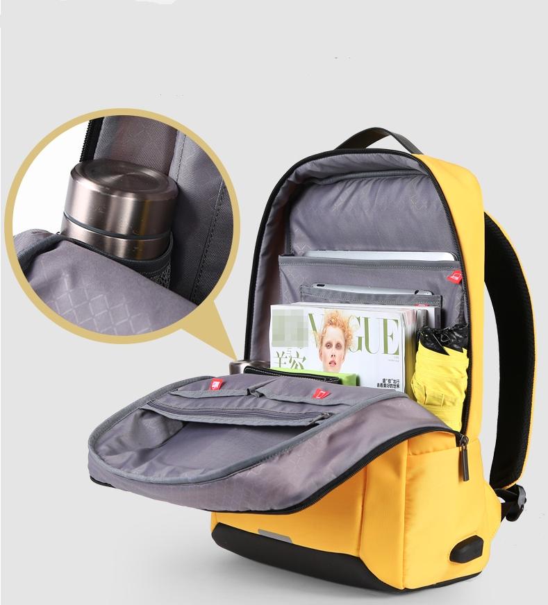 訂做簡約雙肩電腦後背包