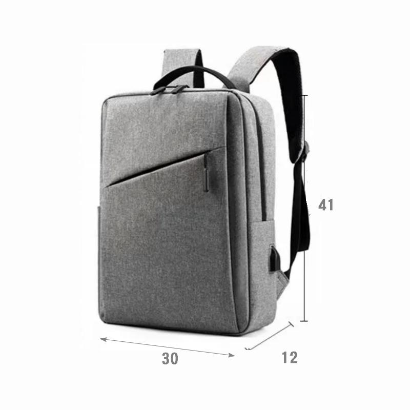 訂製簡約電腦雙肩後背包