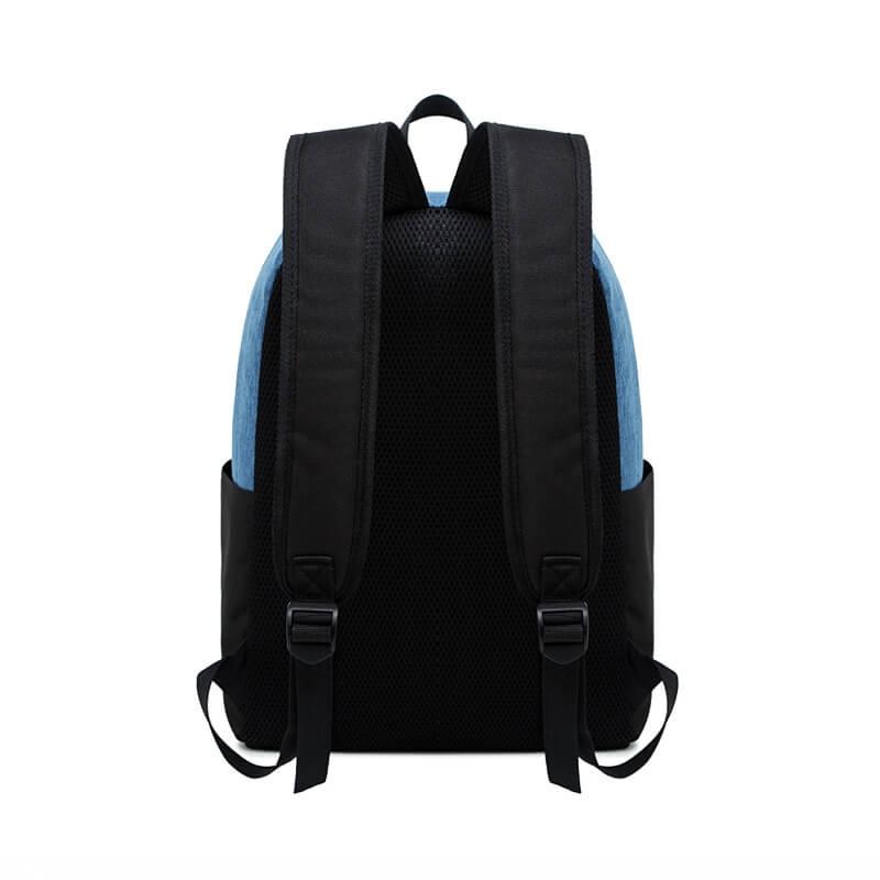 客製化撞色雙肩後背包
