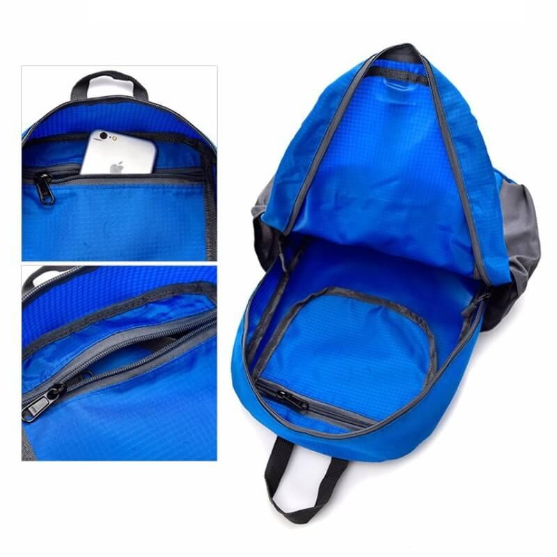 客製化休閒摺疊收納後背包