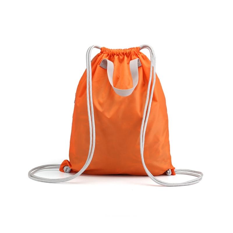 客製化簡約摺疊收納兩用後背包