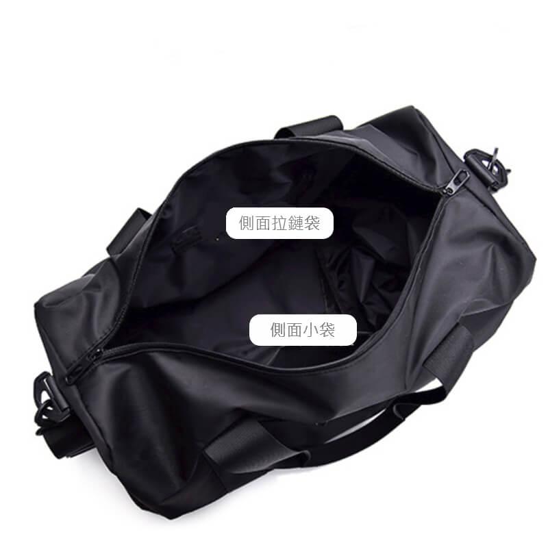 客製化經典運動附鞋袋健身包