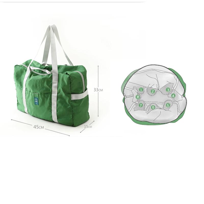 客製大容量摺疊收納兩用手提袋