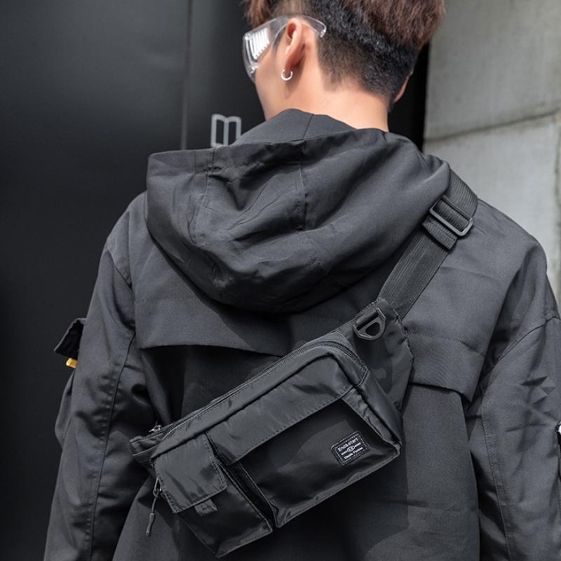 客製化軍風單肩胸包腰包
