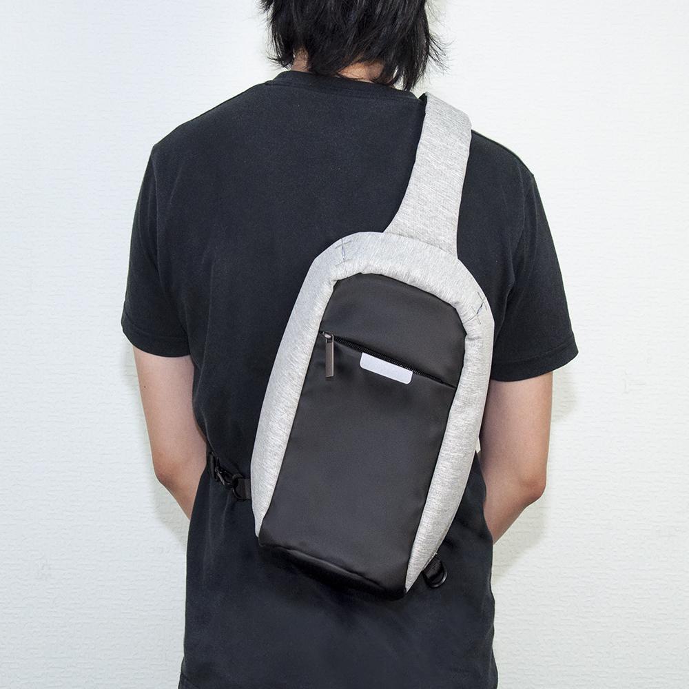 客製化日系單肩胸包