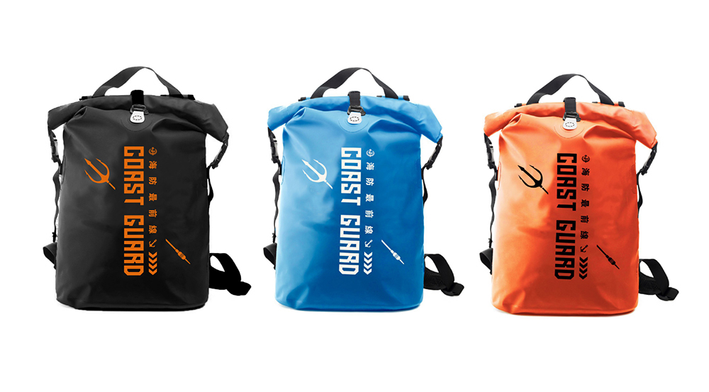 客製化極簡防水後背包-海巡署訂製背包