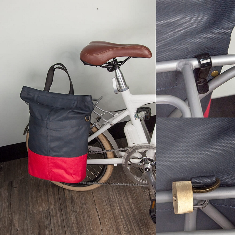 客製化休閒單車三用包      100%